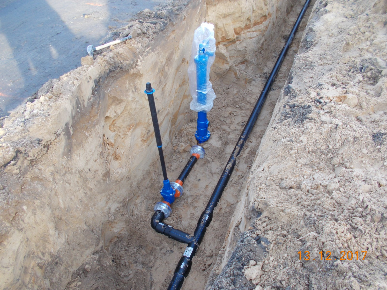 Rozbudowa sieci wodociągowej w sołectwie Łężyca w Zielonej Górze